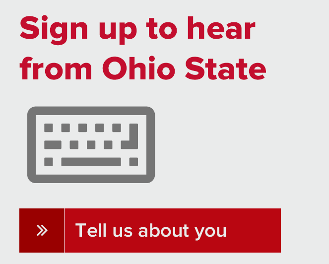 Sign up to hear from Ohio State