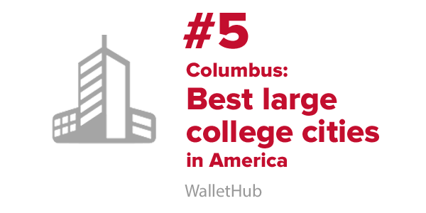 Best large college city